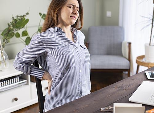 Les ateliers prévention, le mal de dos