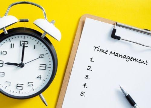 La gestion du temps